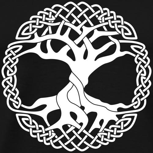 Yggdrasil arbre de vie viking - T-shirt Premium Homme