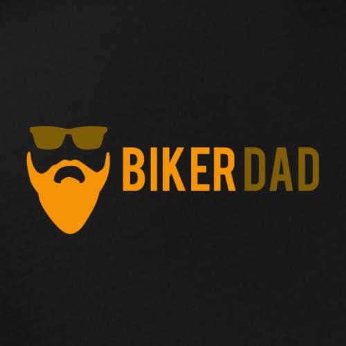 Biker Dad Logo - Men's Premium T-Shirt