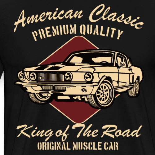 AMERICAN CLASSIC CAR T SHIRT - Männer Premium T-Shirt