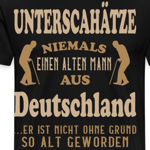 Alter Mann, DEUTSCHLAND, Berlin, Geschenk, deutsch - Männer Premium T-Shirt
