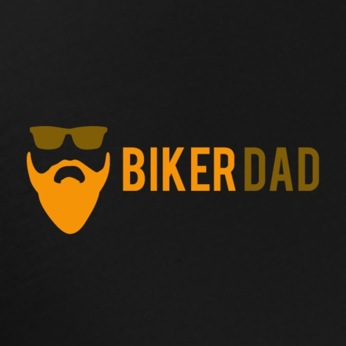 Biker Dad Logo - Men's Premium T-Shirt