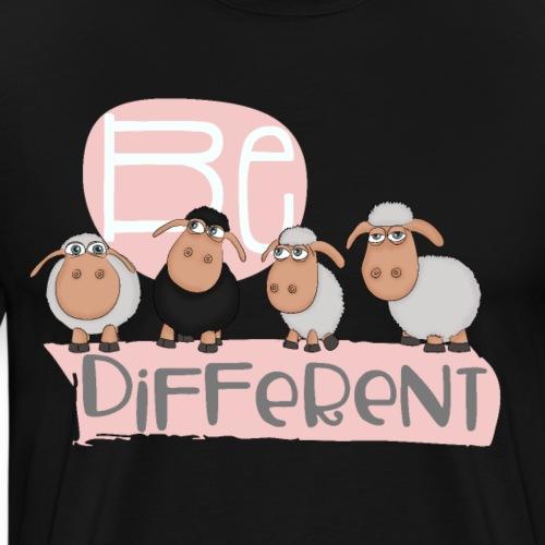Be different: unique black sheep