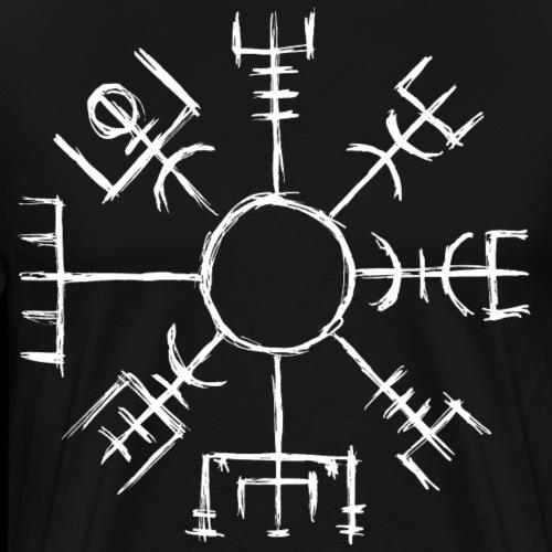 Vegvisir - der Wegweiser - Männer Premium T-Shirt