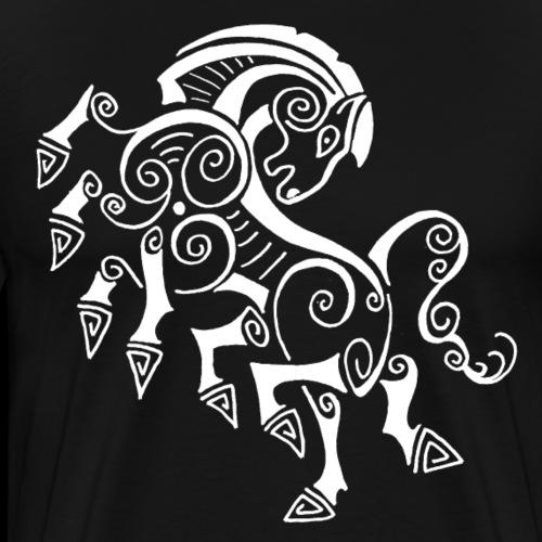 Odins Pferd - Männer Premium T-Shirt