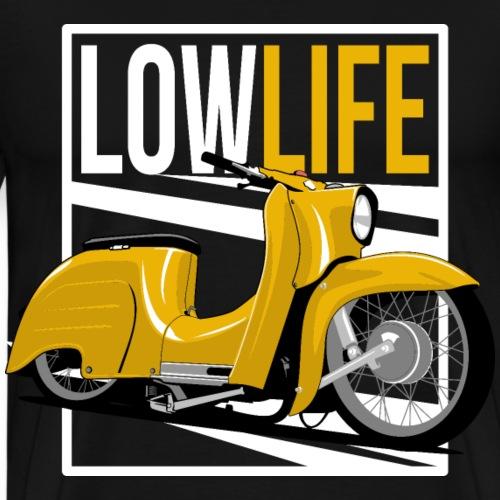 saharabraun low life - Männer Premium T-Shirt