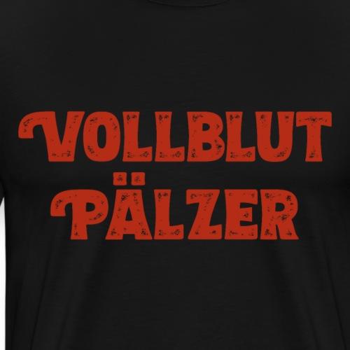 Vollblut Pälzer - Männer Premium T-Shirt