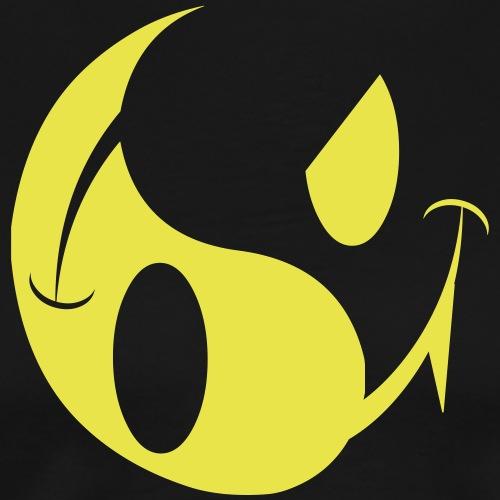 smiley yin yang - Men's Premium T-Shirt