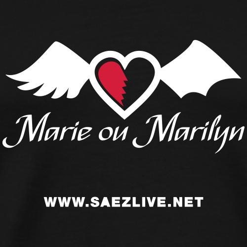 Marie ou Marilyn (version light) - T-shirt Premium Homme