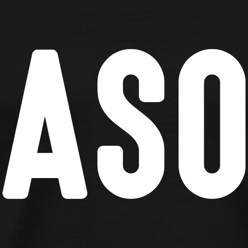 ASO - Mannen Premium T-shirt