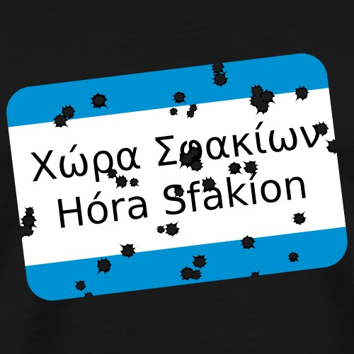 mg sfakia - Männer Premium T-Shirt