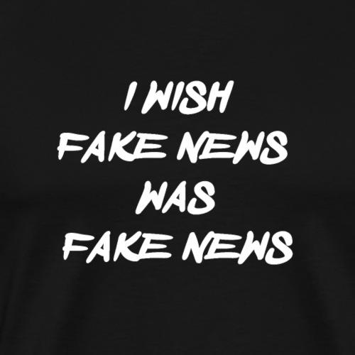 fake news - Mannen Premium T-shirt