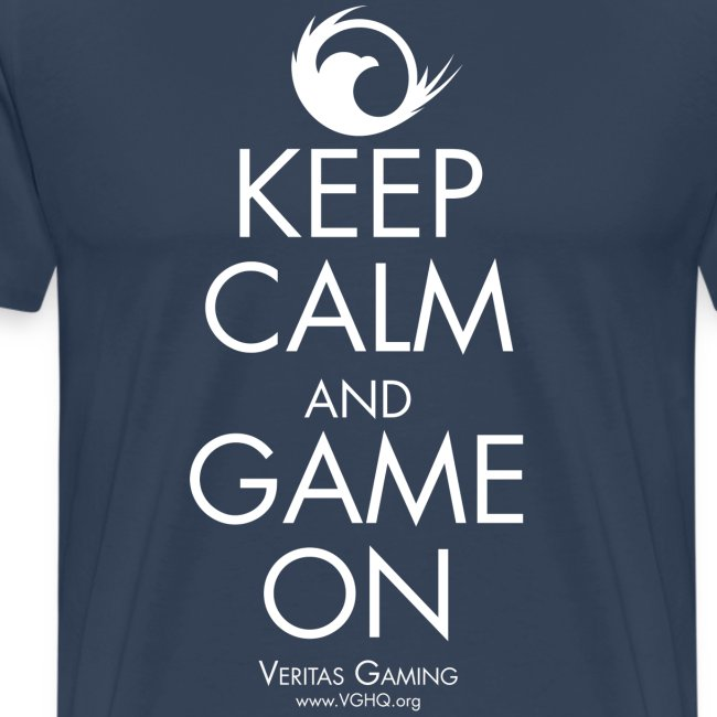 VG Keep Calm White