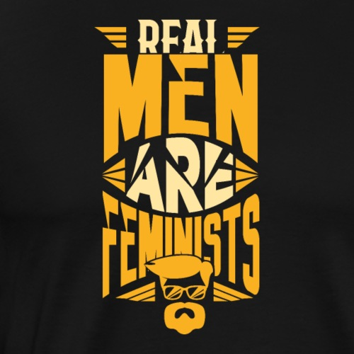 Real Men Are Feminists 06 - Männer Premium T-Shirt