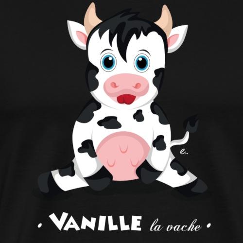 Vanille la vache - T-shirt Premium Homme