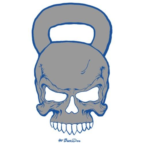 Kettlebell-Skull (männlich) - Männer Premium T-Shirt