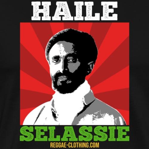 HAILE SELASSIE REGGAE-CLOTHING.COM - Männer Premium T-Shirt