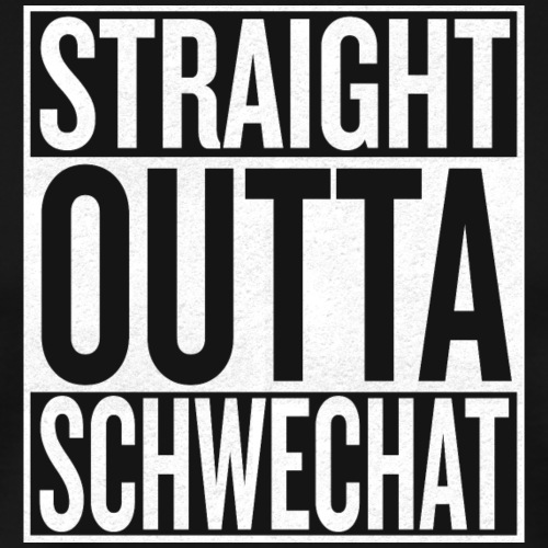 Straight Outta Schwechat - Männer Premium T-Shirt