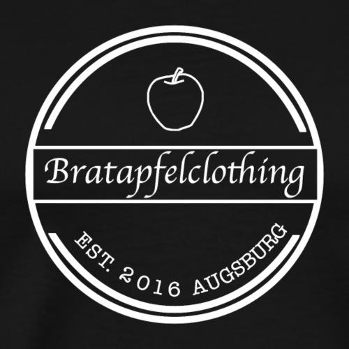 Bratapfel Kreis ohne Hintergrund - Männer Premium T-Shirt