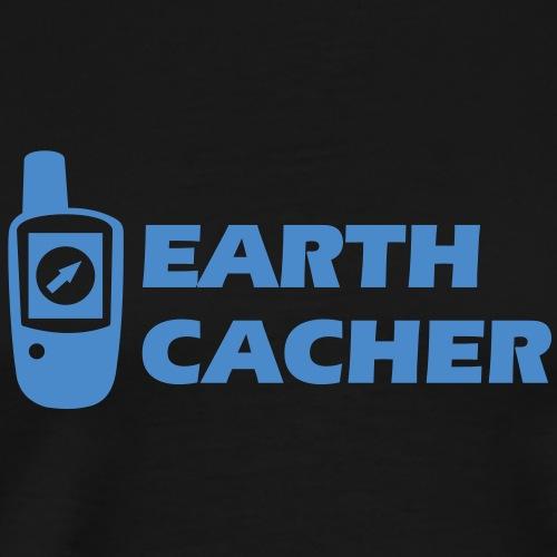 Geocaching GPS Earthcacher - Männer Premium T-Shirt