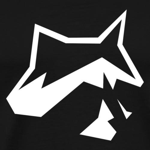 Raccoon Minimal - Männer Premium T-Shirt