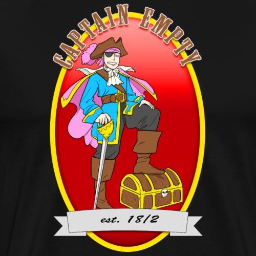 Captain Empty - Männer Premium T-Shirt