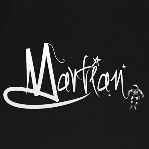 Martian Brand Logo - Men's Premium T-Shirt