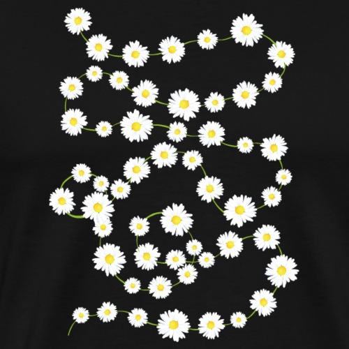 Daisy Chain - Männer Premium T-Shirt