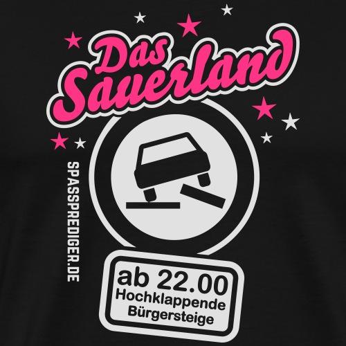 Sprüche T-Shirt Das Sauerland - Männer Premium T-Shirt