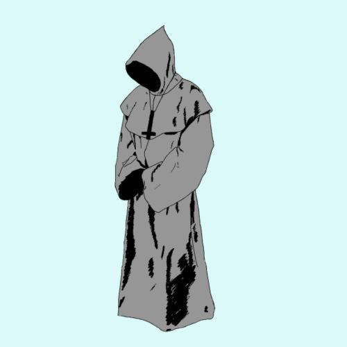 moine fantôme - T-shirt Premium Homme
