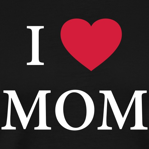 I LOVE DAD – HEART - Männer Premium T-Shirt