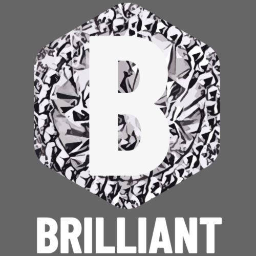 B brilliant white - Mannen Premium T-shirt