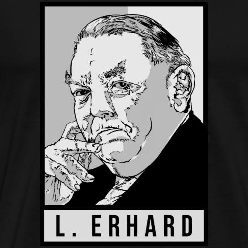 Ludwig Erhard (CDU) - Männer Premium T-Shirt