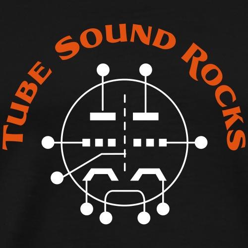 ECC88 - Tube Sound Rocks - Männer Premium T-Shirt