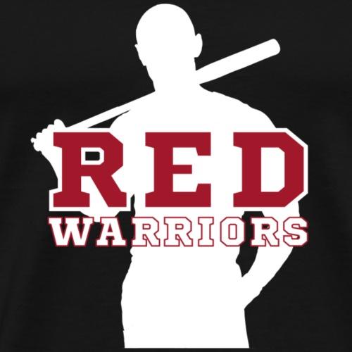 Red Warriors Logo3 - T-shirt Premium Homme