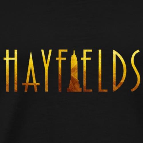 'HAYFIELDS' Title - Men's Premium T-Shirt