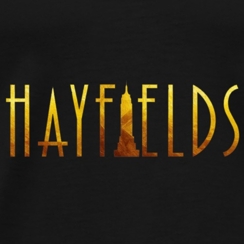'HAYFIELDS' Title - Men's Premium T-Shirt