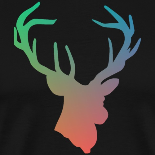 Rainbow Deer - Men's Premium T-Shirt