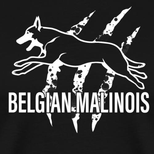 Belgian malinois SCRATCH - Männer Premium T-Shirt