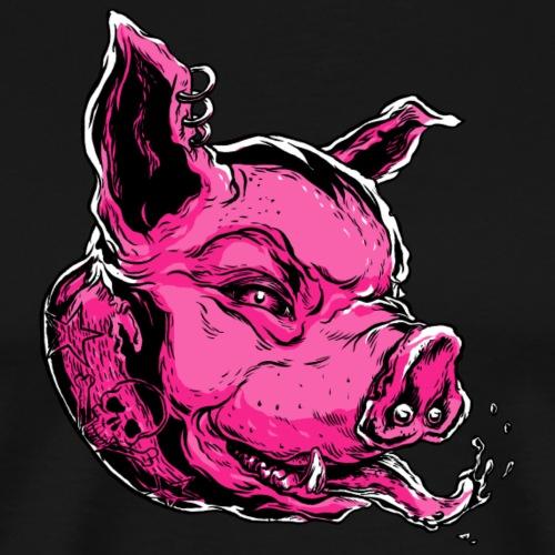 RP HEAD pink - Männer Premium T-Shirt