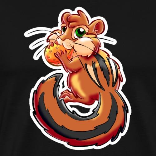 Streifenhörnchen - Männer Premium T-Shirt