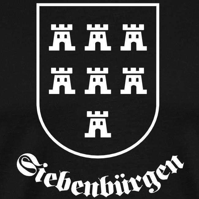 """Sachsenwappen """"Siebenbürgen"""" einfarbig"""
