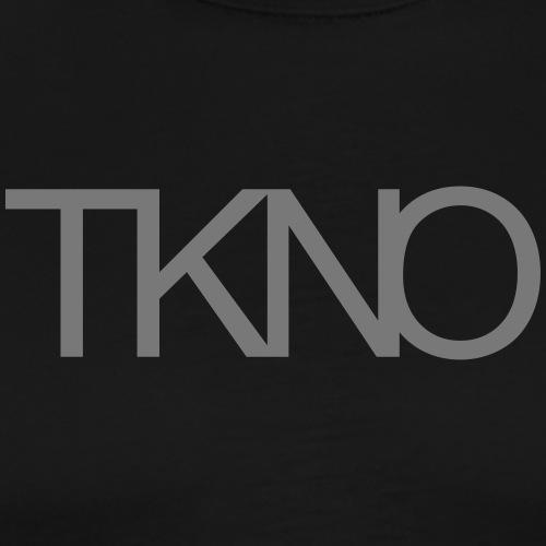 TKNO MNML Techno Minimal dark Tekkno Rave Kind - Männer Premium T-Shirt