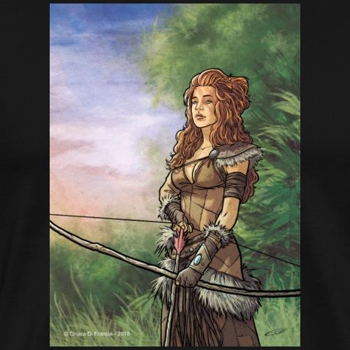Amazon Warrior Woman - Men's Premium T-Shirt