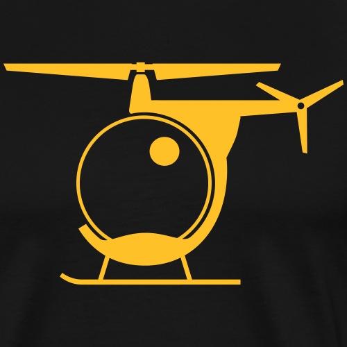 HELIKOPTER - Premium-T-shirt herr