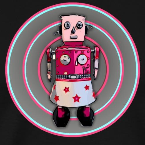 Cooles lustiges T-Shirt Lady Bot Roboter Geschenk - Männer Premium T-Shirt