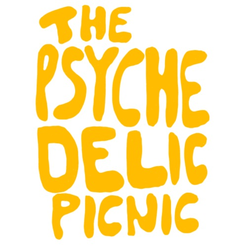 The Psychedelic Picnic_Yellow - Männer Premium T-Shirt