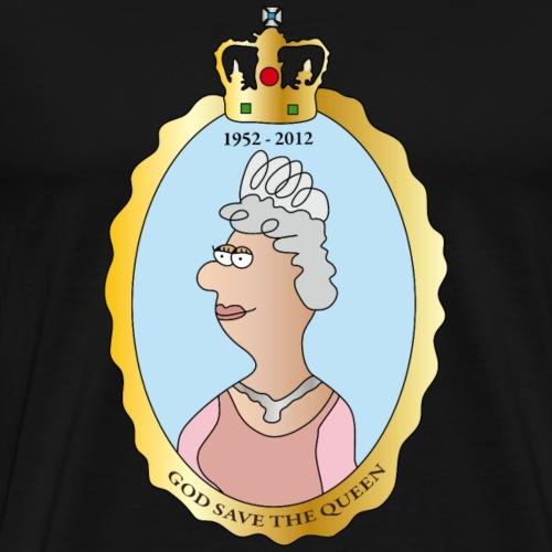 Queen Elizabeth II - Männer Premium T-Shirt