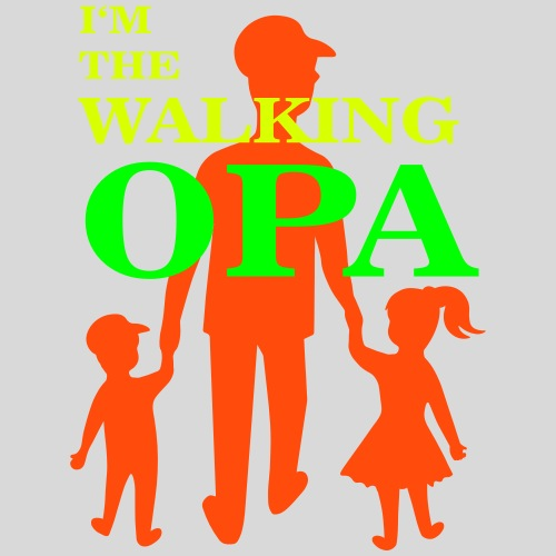 The Walking Opa 2 - Männer Premium T-Shirt