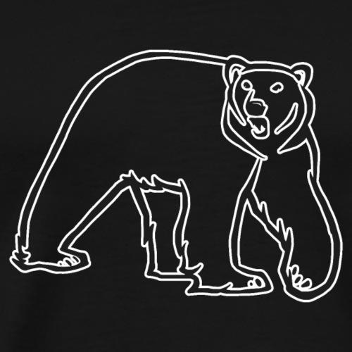 Ours Polaire - Version Simple - T-shirt Premium Homme