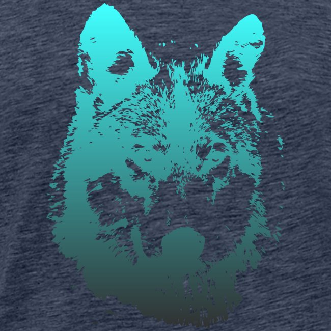 illustration tete de loup